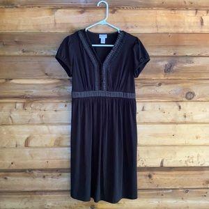 Motherhood Maternity Black Dress